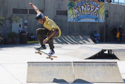 Skaters shred Redondo Pier