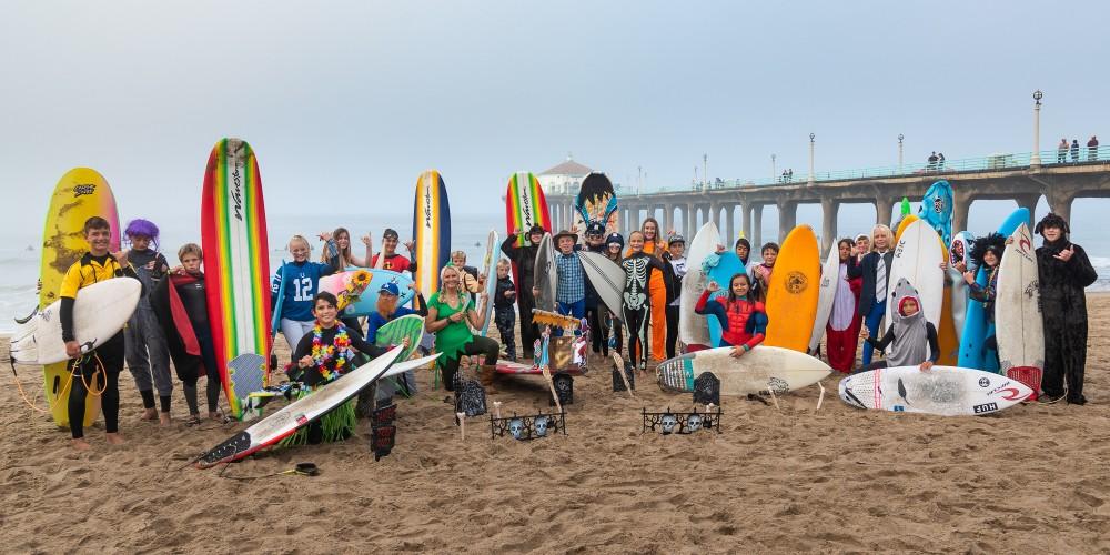 Beach sports – Scare N' Tear helps save lives