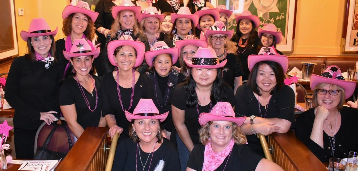 Beach charity – Women 'Rock the Pink'
