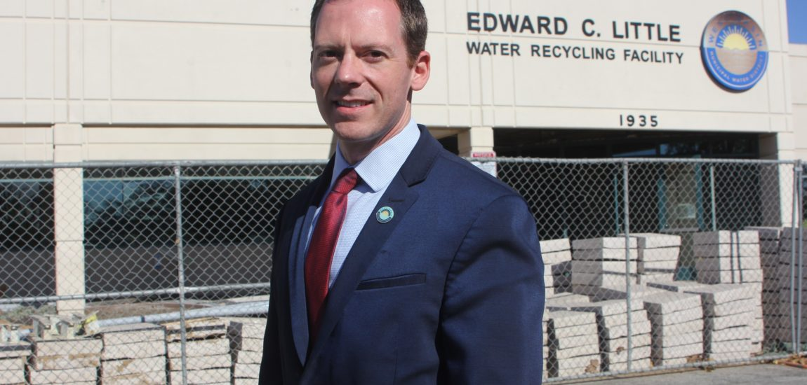 ES people – West Basin's Scott Houston hopes to build on the water district's past successes and prevent a repeat of past failures