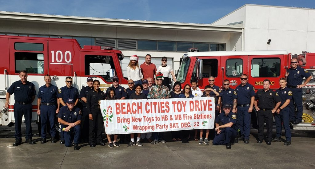 Manhattan, Hermosa firefighters host 26th Annual Beach Cities Toy Drive