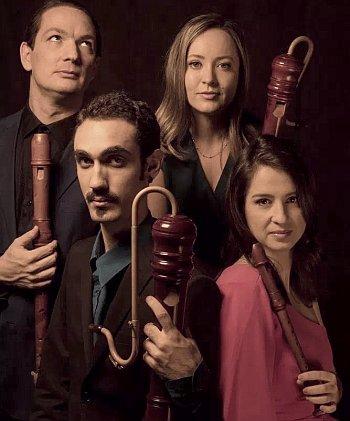 The Interludes Concert Series - QUINTA ESSENTIA Brazilian Recorder Quartet @ First Lutheran Church & School  | Torrance | California | United States