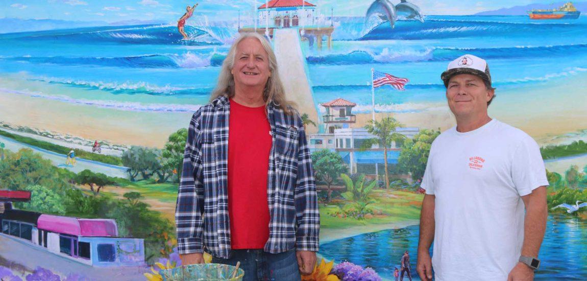 Ely-Smartt Shops mural celebrates 75 years in Manhattan Beach