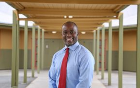 Thurmond promises to lift all state's schools