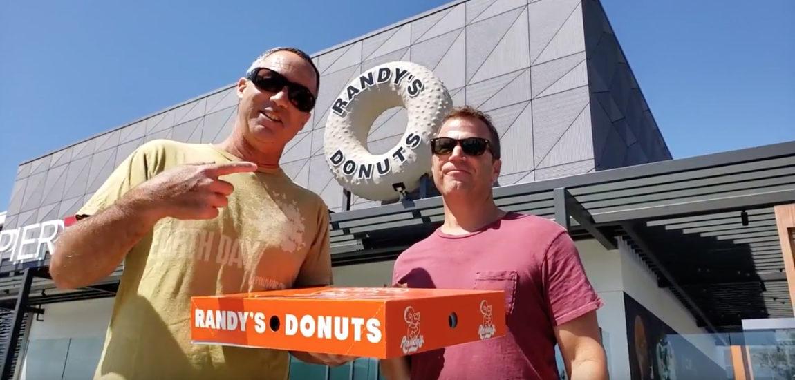 Steve and Brad Visit Randy's Donuts in El Segundo (video)
