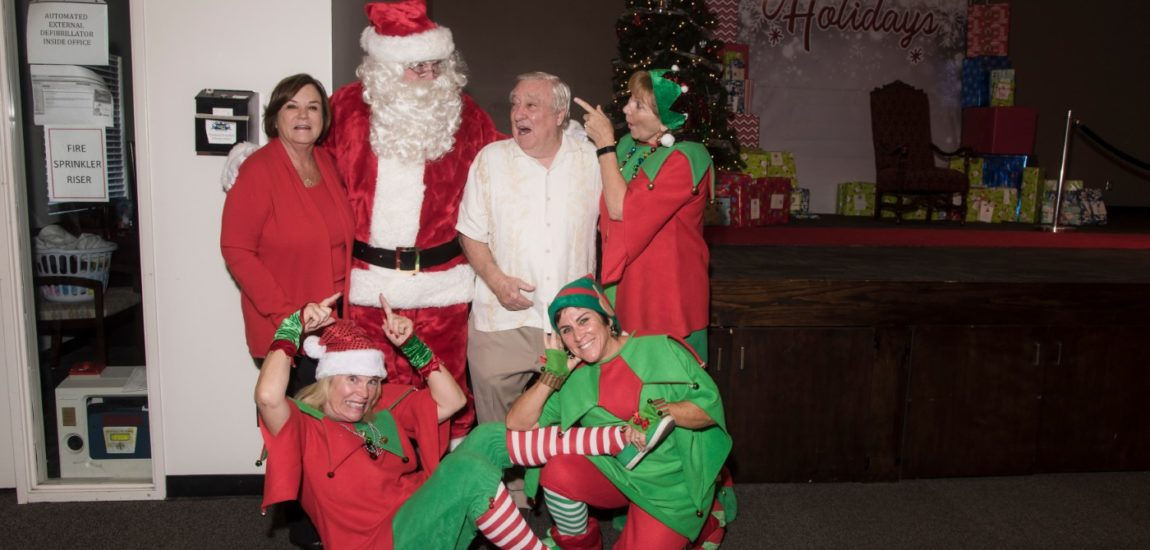 Couple hosts holiday parties for foster youth
