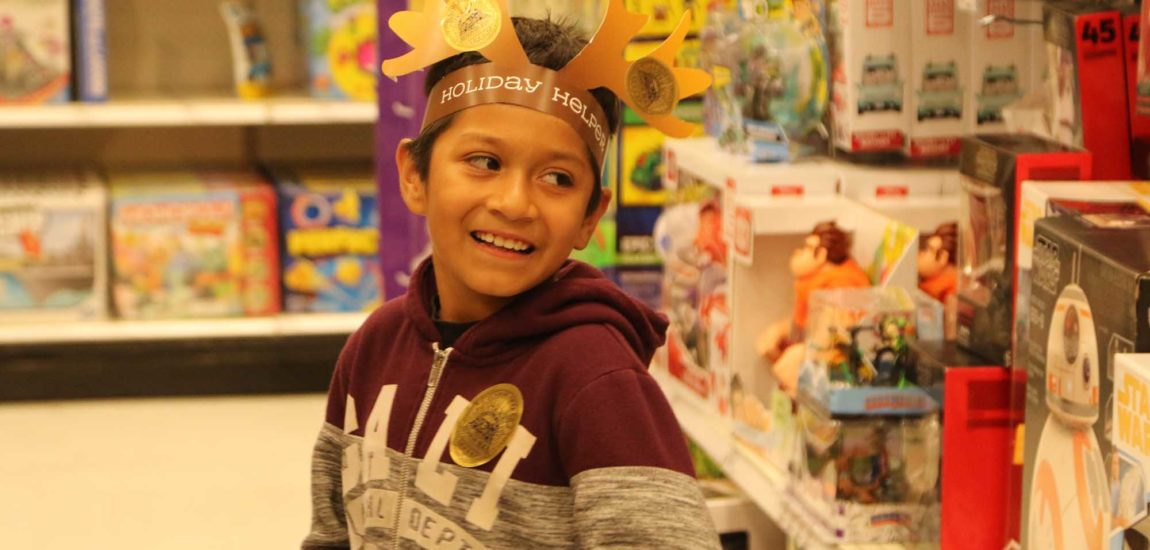 Redondo PD, Target, help families shop