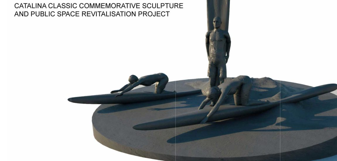 MB Council approves Catalina  Classic paddleboarding sculpture