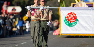 Beach scouts – Scouts on parade at the Tournament of Roses Parade