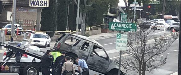Driver dies in fiery crash on Aviation Boulevard