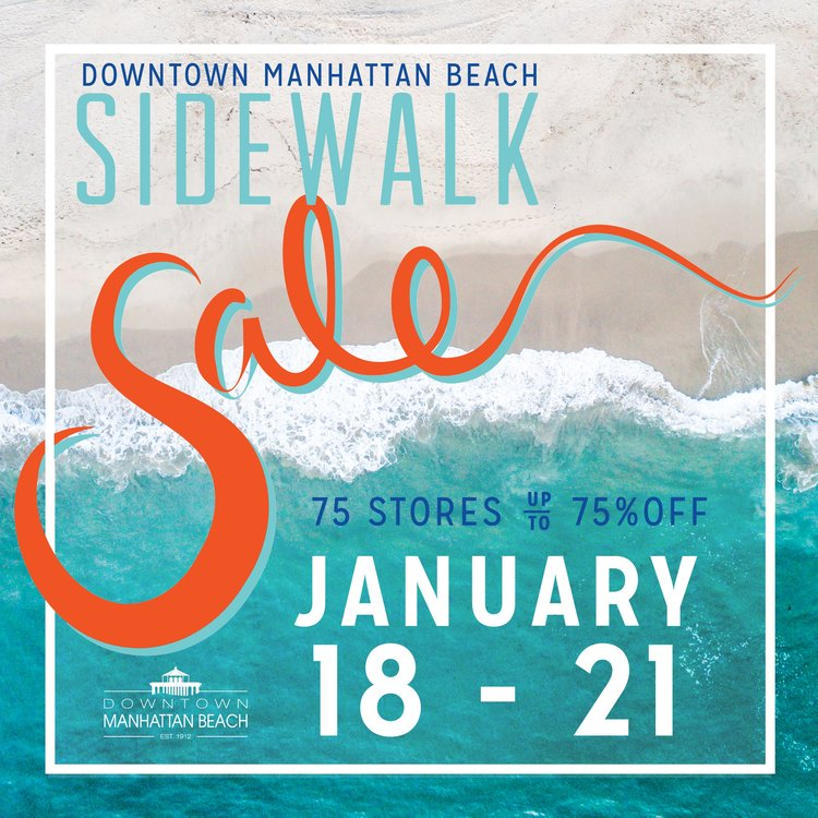 Downtown Manhattan Beach Sidewalk Sale @ Downtown Manhattan Beach | Manhattan Beach | California | United States