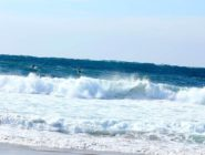 Big Wednesday at Redondo Beach Breakwall: Levy and Meistrell
