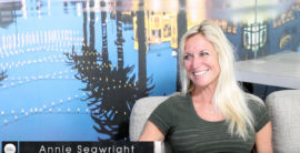 Meet the Queen of the Hermosa Beach Ironman Annie Seawright (video)