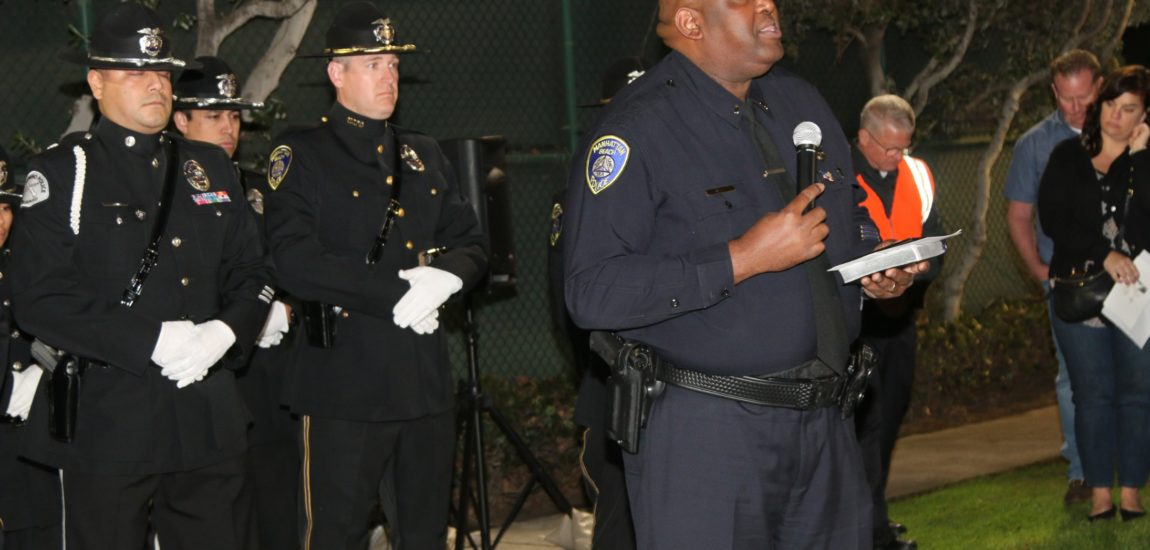 Ceremony honors MBPD's Martin Ganz