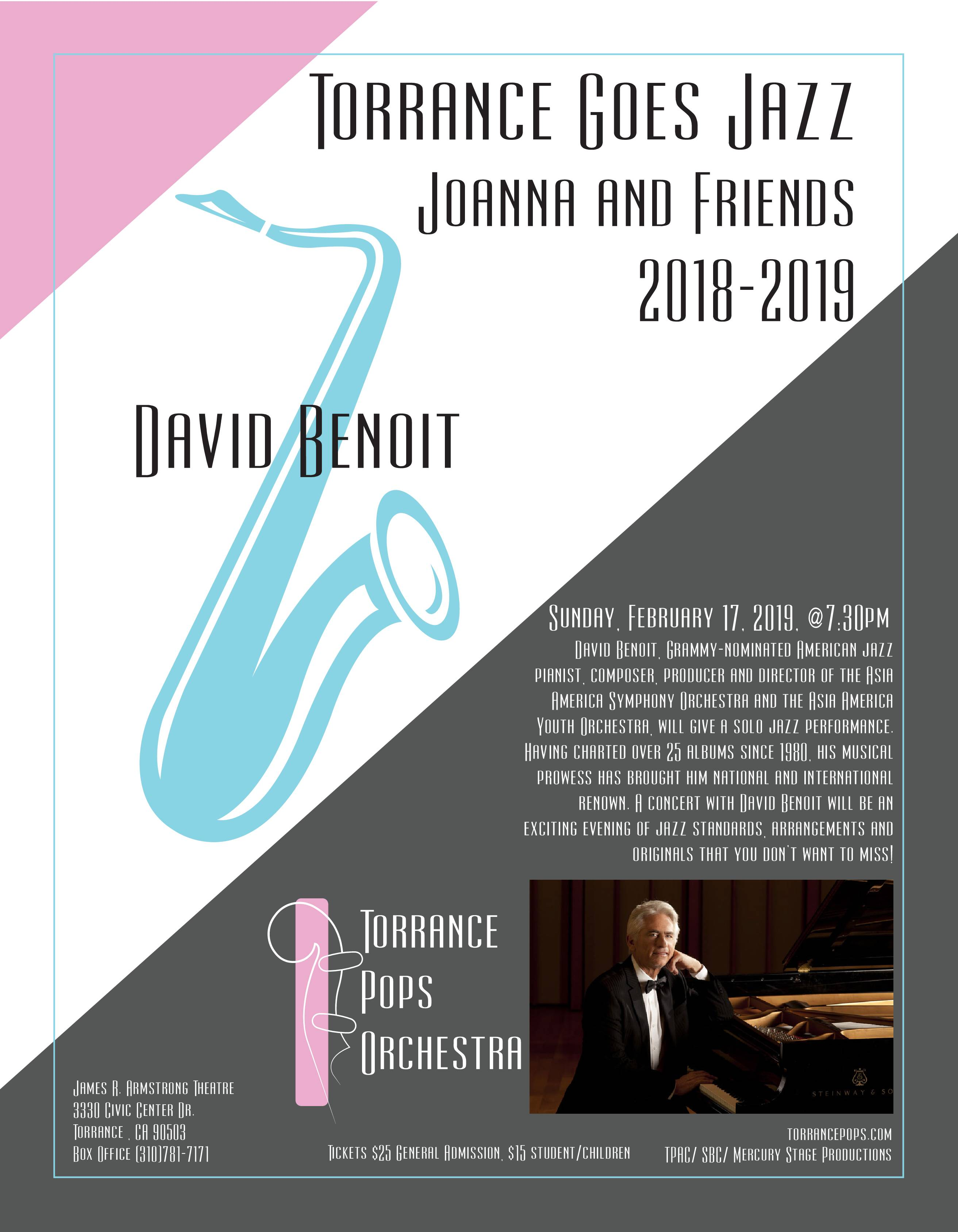 Torrance Goes Jazz - Joanna and Friends @ James R Armstrong Theatre | Torrance | California | United States