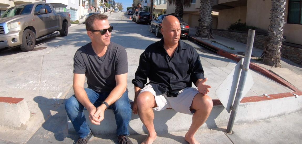 Follow us to 1st Street in Manhattan Beach with Derek Levy (video)