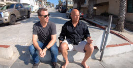 Follow us to 1st Street in Manhattan Beach with Derek Levy (video)