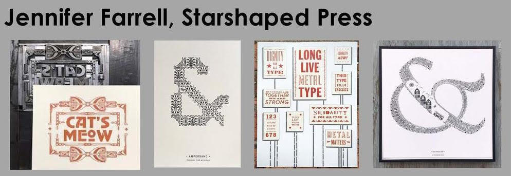 """Building Elaborate Illustrations One Minuscule Piece at a Time"" A talk with Jen Farrell of Starshaped Press @ The International Printing Museum 