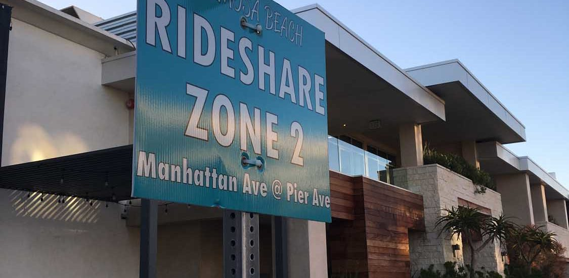 Hermosa Beach sets new pickup locations for Uber, Lyft