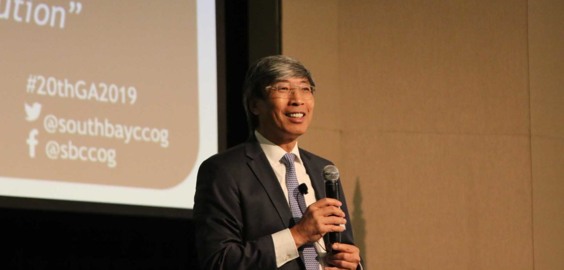 Soon-Shiong stirs crowd withGeneral Assembly presentation