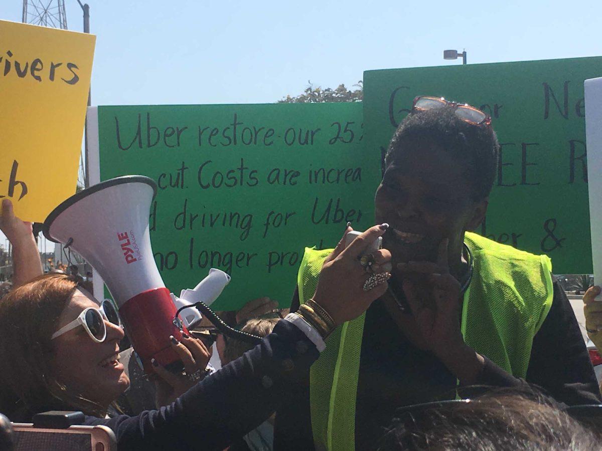 Drivers strike at Uber's Redondo hub | Easy Reader News