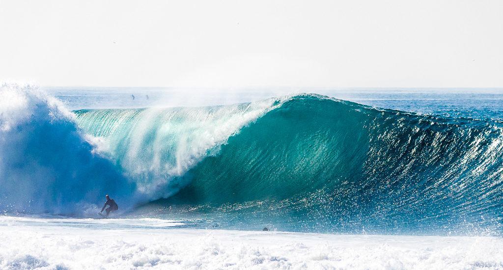 Jeff Jones wins South Bay Boardriders Big Wave Challenge