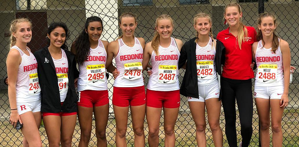 Redondo girls set relay team record at Arcadia Invitational