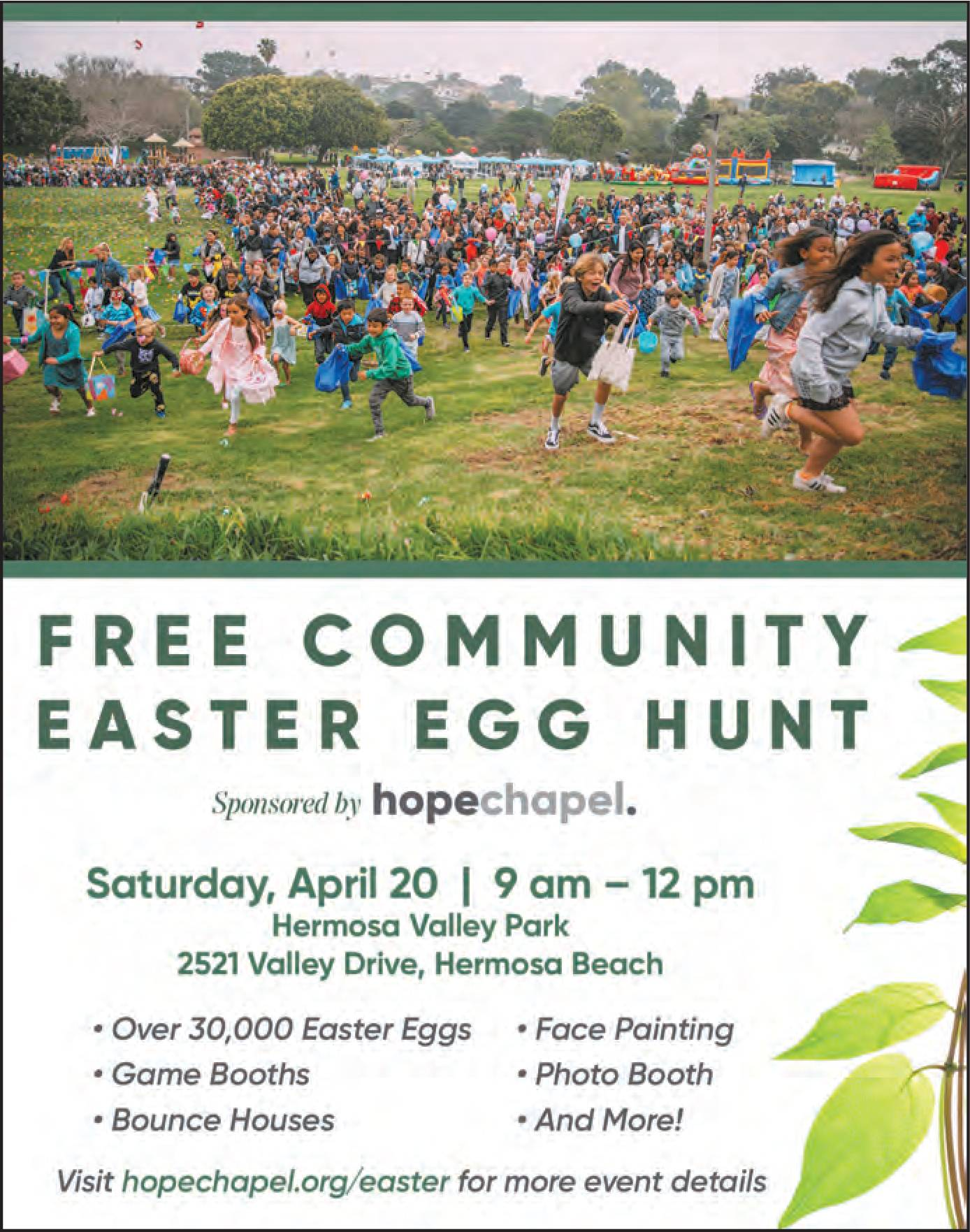 Free Community Easter Egg Hunt @ Hermosa Valley Park | Hermosa Beach | California | United States