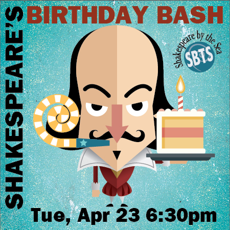 Shakespeare by the Sea's BARDS BIRTHDAY BASH! @ Whale and Ale in San Pedro  | Los Angeles | California | United States