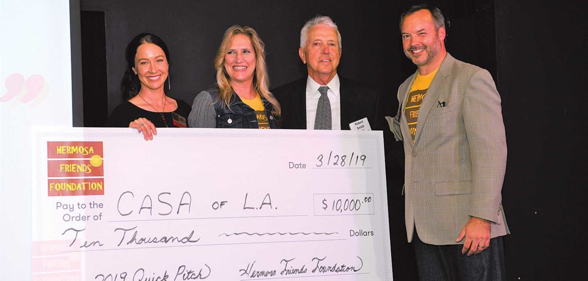 Foster youth nonprofit takes Hermosa Beach foundation's 'Quick Pitch' contest