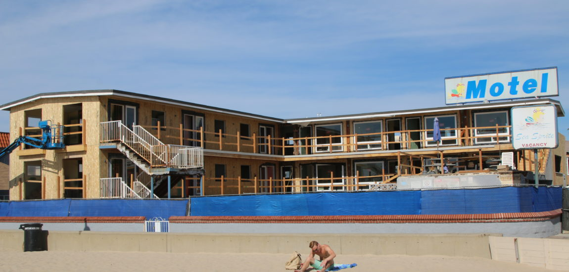 Changing face for Sea Sprite Motel in Hermosa Beach