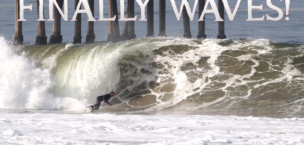 The South Bay Was Either Flat Or Blown Out Most of March; Then This Happened