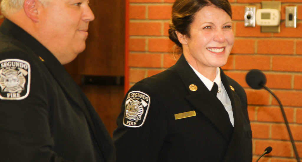 New El Segundo Battalion Chief Deena Lee makes history