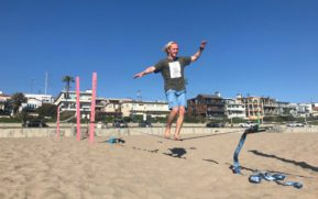Slackliners face tightrope walk in quest for dedicated park