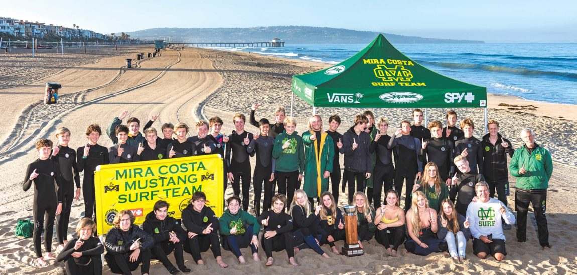 Ten for 10: Depth and dedication help Mira Costa surfers ride a decade-long streak of success