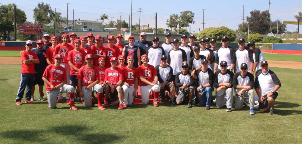 RUHS tops RBPD in friendly slow-pitch softball game