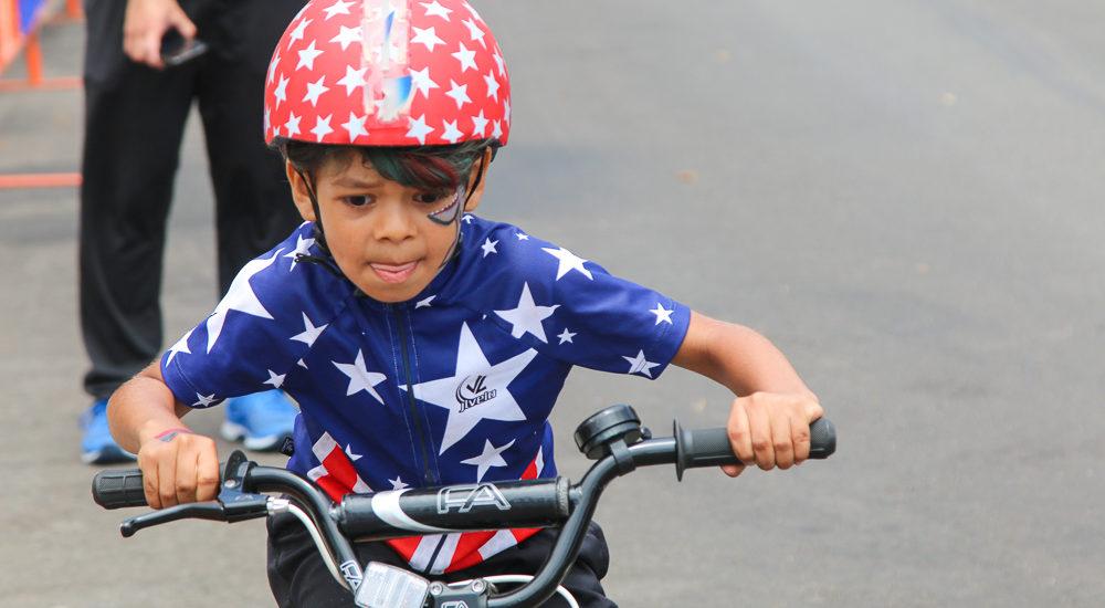 Ted Ernst whistles the start for 58th Annual Chevron Manhattan Beach Grand Prix Kids