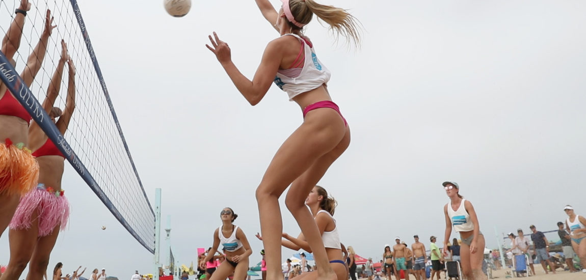 """Manhattan Beach 6-Man Volleyball tourney players question 'paid for play"""""""