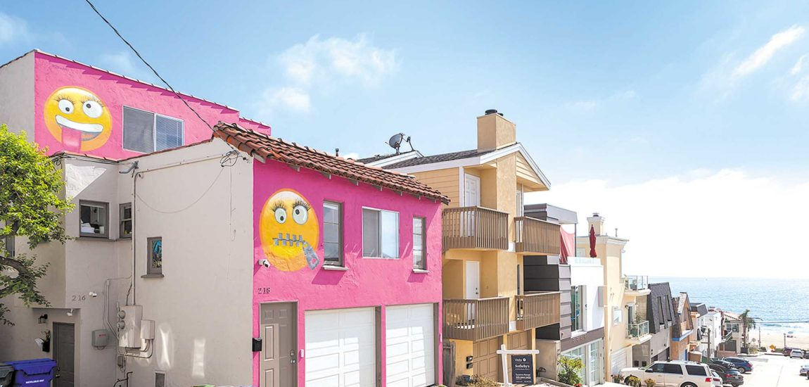 The Emoji House is put on the market