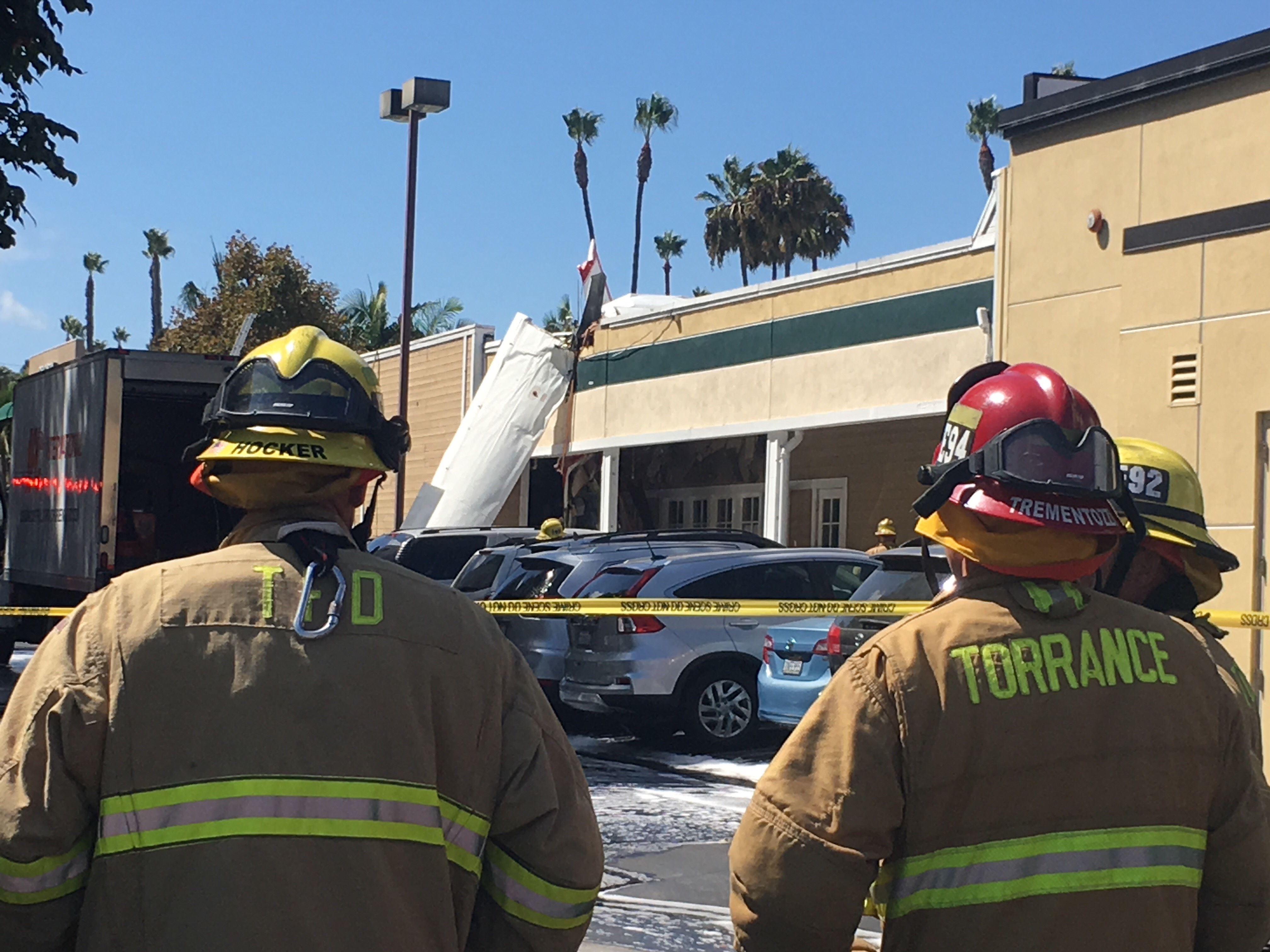 One dead after two-passenger Cessna crashes near Torrance Airport