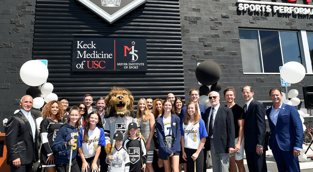 USC Keck Medicine, Meyer Institute of Sports join LA Kings in El Segundo