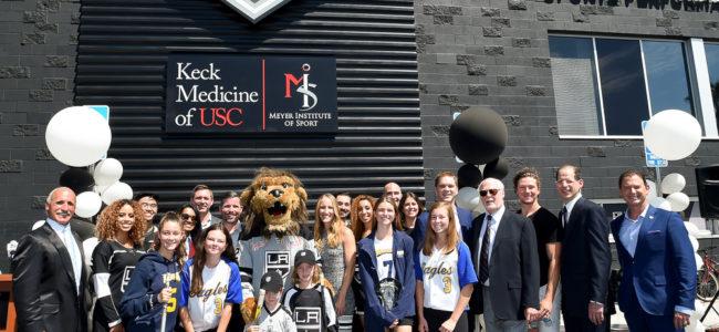 USC Keck Medicine, Meyer Institute of Sports join LA Kings in El Segundo