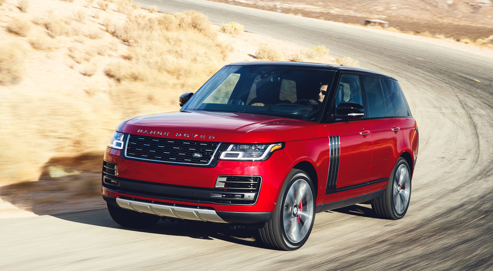 Beach Wheels: Range Rover SVAutobiograpy a tribute to SUV class
