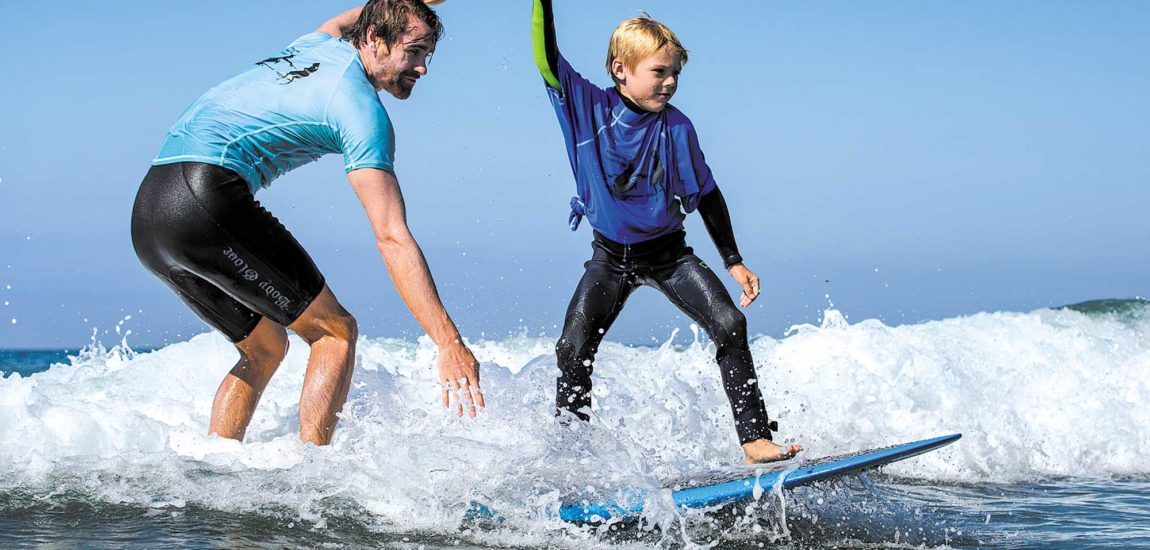 Jimmy Miller teams score sun, family friendly waves