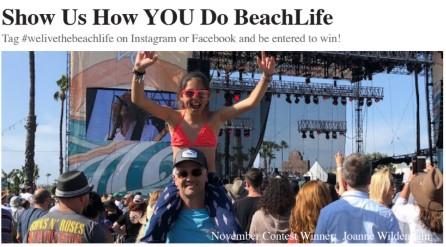 BeachLife tickets photo contest