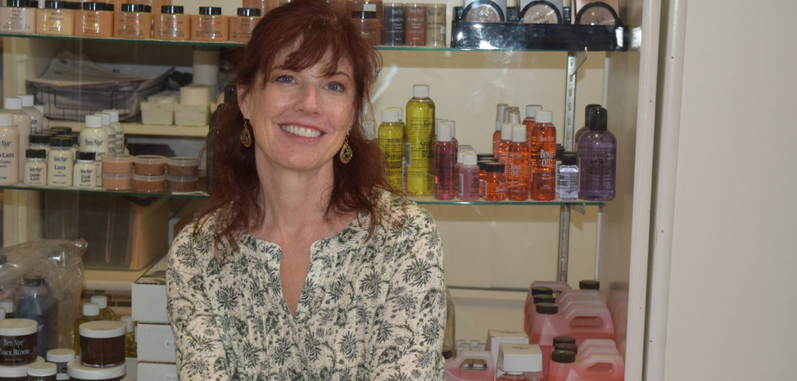 South Bay theater: makeup artist Patty Jarvis brings the illusion to life