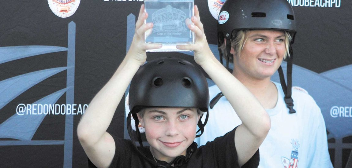 Kirshak defends crown, women shred at RB Police King of the Harbor Skateboard championship