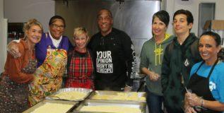 Beach people – Mama Liz Thanksgiving Dinner