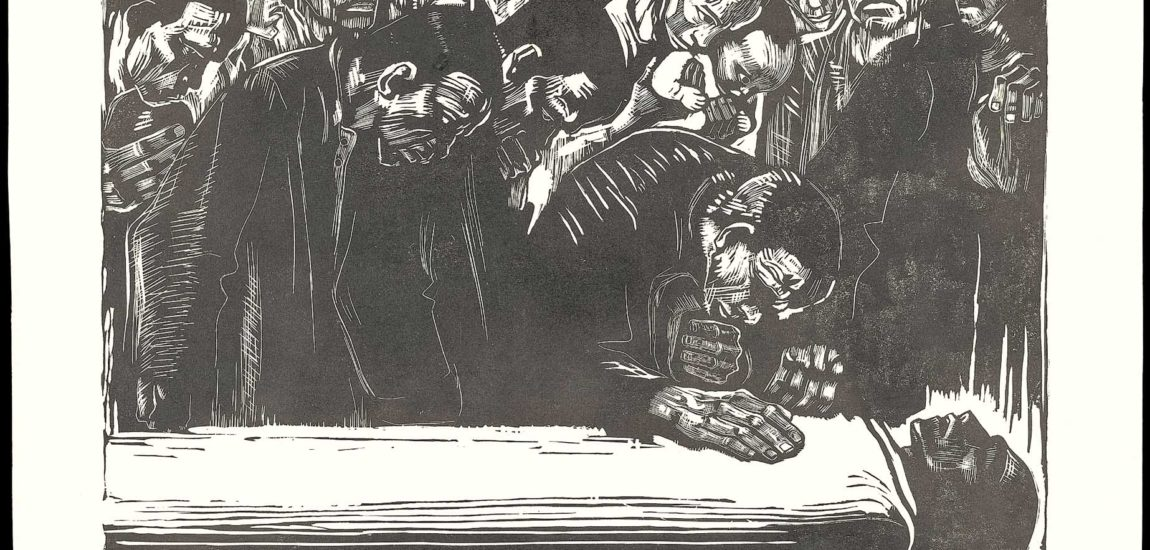 Käthe Kollwitz: War and other atrocities at the Getty Research Institute