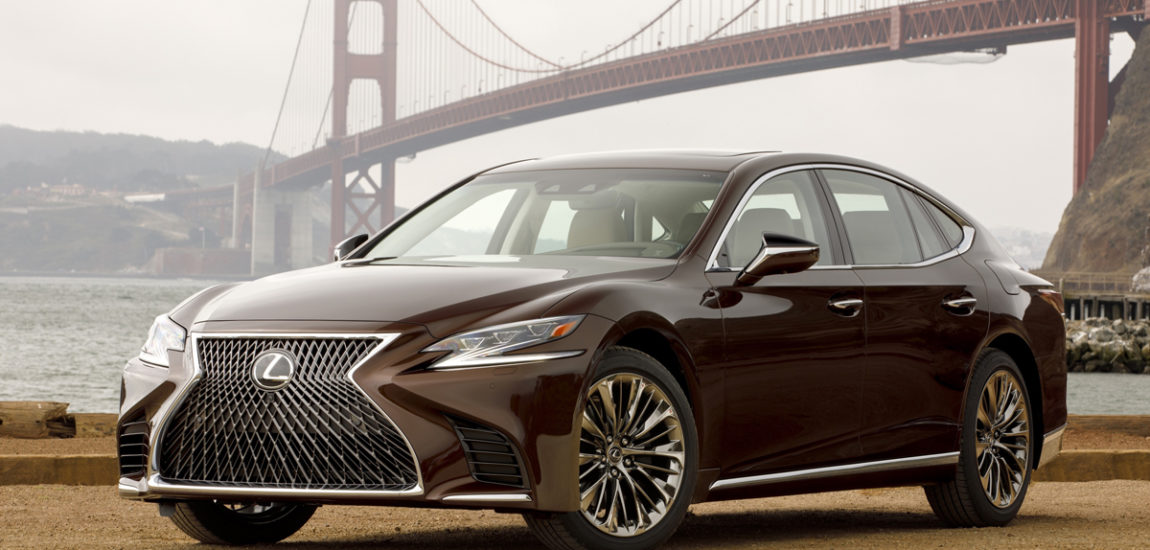 Lexus' LS 500 F Sport delivers cutting edge performance and luxury